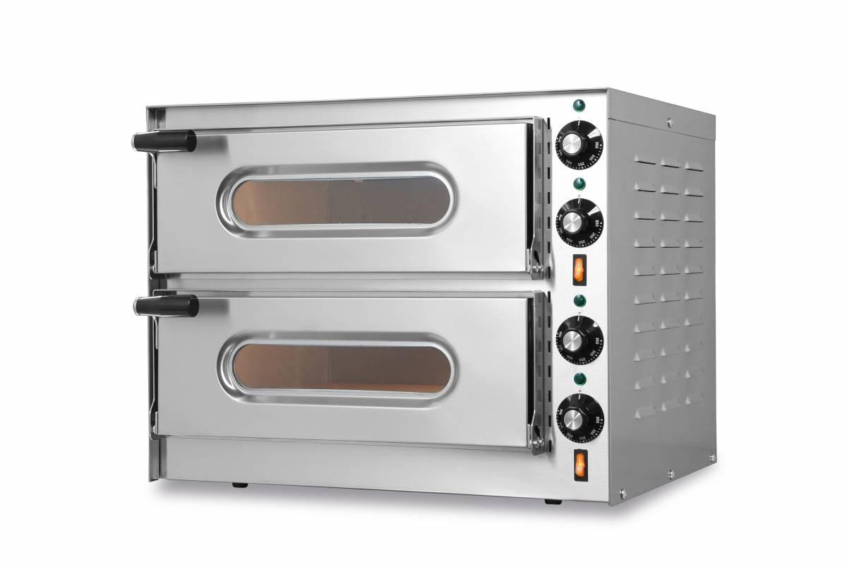 Forno elettrico per pizza doppio little a double - Miglior forno elettrico per pizzeria ...