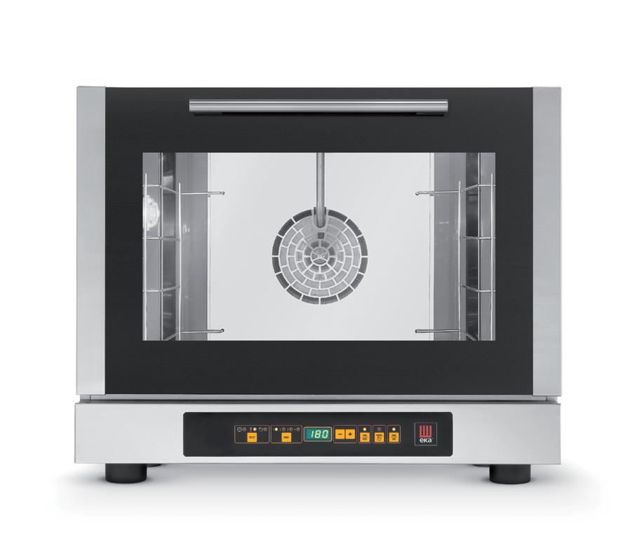 Forno elettrico digitale a convenzione con vapore vendita online forni linea snack - Forno con cottura a vapore ...
