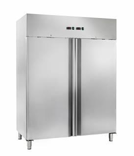 Amitek Doppio armadio refrigerato ventilato a doppia temperatura GN 2/1 AK1200DTV