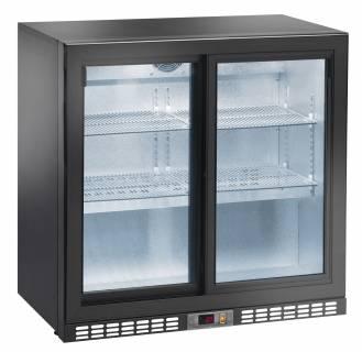 Amitek Doppio espositore back bar refrigerato per bibite AK200BBS