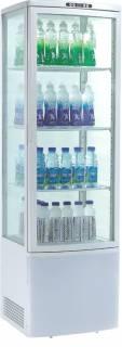 Amitek Espositore refrigerato per bibite 4 ripiani AK235EB