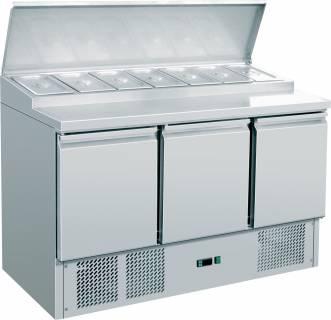 Amitek Saladette Refrigerate Statiche (8 x GN 1/6) - AK300S