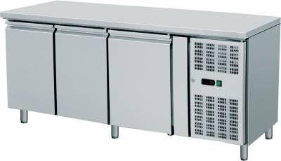 Amitek Banco refrigerato ventilato pasticceria con alzatina AK3200P