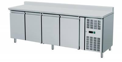 Amitek Banco refrigerato ventilato GN 1/1 con alzatina da 10cm AK4200TN