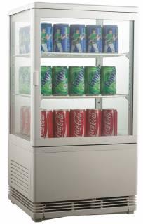 Amitek Espositore refrigerato per bibite 3 ripiani AK78EB