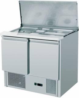 Amitek Saladette refrigerate statiche - AK900  (2xGN1/1 + 3xGN1/6)