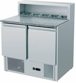 Amitek Saladette refrigerate statiche pizzeria 5 x GN1/6 - Amitek - AK900P
