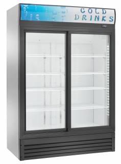 Amitek Espositore refrigerato ventilato per bibite e porte scorrevoli AKP900TNS