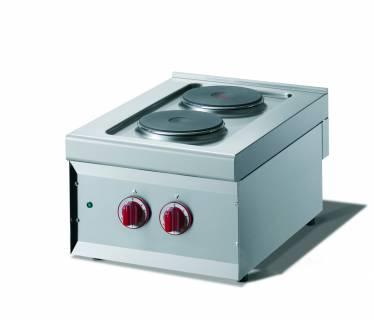 CookTek Cucina elettrica 2 piastre