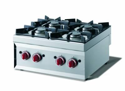 CookTek Cucina gas 4 fuochi