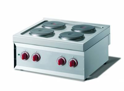 CookTek Cucina elettrica 4 piastre