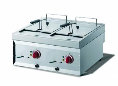 CookTek Friggitrice elettrica 2 vasche