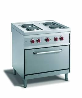 CookTek Cucina elettrica 4 piastre forno convezione elettrico gn 1/1