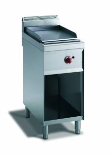 CookTek Fry top gas piastra liscia