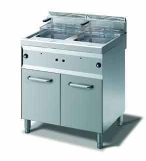 CookTek Friggitrice gas 2 vasche