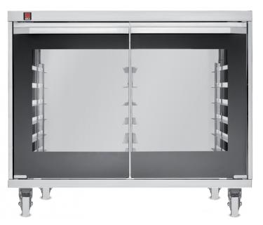 Tecnoeka Lievitatore 12 teglie touch control con ruote e con umidificazione 2,4 Kw (versione acciaio inox 304) EKL 1264 TC R INOX