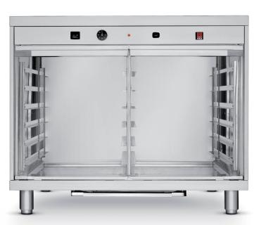 Tecnoeka Lievitatore 8 teglie con umidificazione (versione inox 304) EKL 1264 INOX