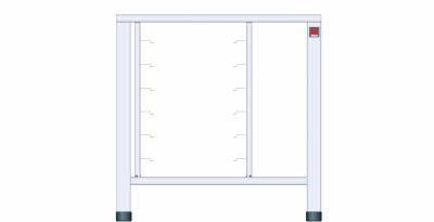 Tavolo fisso in AISI 430 con supporti universali - EKTS 411