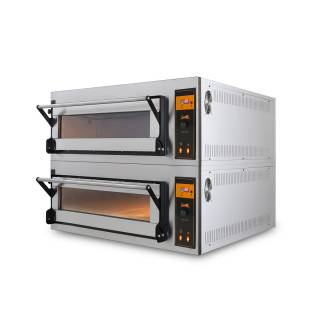 Forno elettrico per pizza e pane doppio PP 1 Double