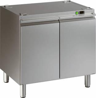 Amitek armadio caldo per forno a convezione a gas per gastronomia e pasticceria wa12