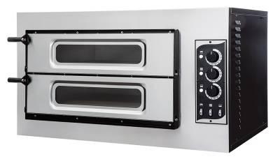 Prismafood forno elettrico meccanico doppia camera Basic 2/50 vetro