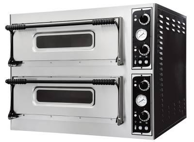 Prismafood forno elettrico meccanico doppia camera Basic 66