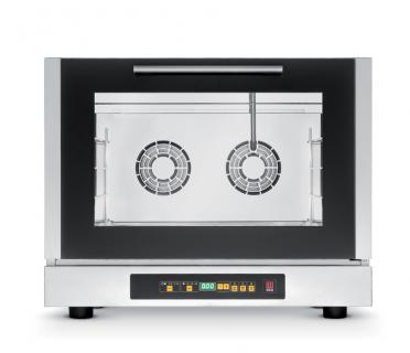 Forno elettrico digitale a convenzione con vapore con apertura laterale vendita online forni - Forno con cottura a vapore ...