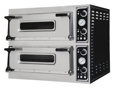 Prismafood forno elettrico meccanico doppia camera Trays 66
