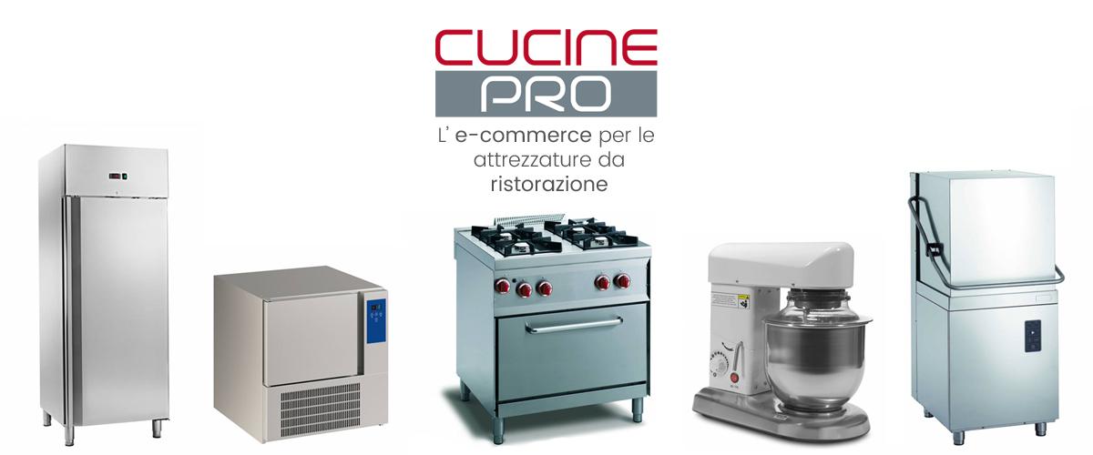 Cucine Pro, l'e-commerce per le attrezzature da ristorazione