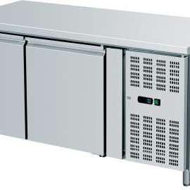 Amitek Banco refrigerato ventilato pasticceria con alzatina AK2200P