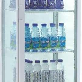 Amitek Espositore refrigerato per bibite 4 ripiani AK280EB