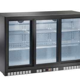Amitek Triplo espositore back bar refrigerato per bibite AK300BBS