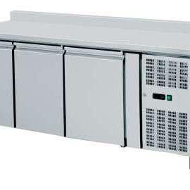 Amitek Banco refrigerato ventilati GN 1/1 con alzatina da 10cm AK3200TN