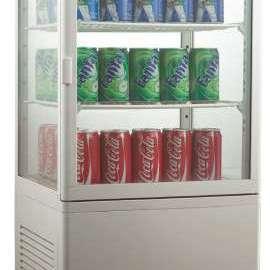 Amitek Espositore refrigerato per bibite 3 ripiani AK98EB