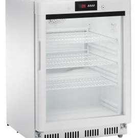 Amitek Espositore refrigerato statico digitale con porta a vetri AKD200RG