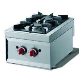 CookTek Cucina gas 2 fuochi