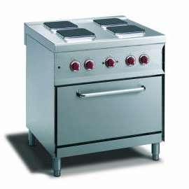 CookTek Cucina elettrica 4 piastre quadre forno convezione elettrico gn 1/1