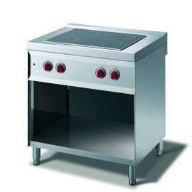 CookTek Cucina elettrica vetroceramica, 4 piastre