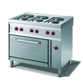 CookTek Cucina elettrica 6 piastre forno convezione elettrico gn 1/1