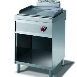 CookTek Fry top gas piastra liscia/rigata