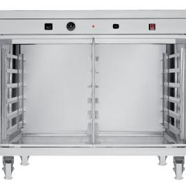 Tecnoeka Lievitatore 12 teglie con ruote e con umidificazione 2,4 Kw (versione acciaio inox 304) EKL 1264 R INOX